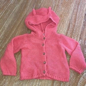 Carters girl hooded sweater